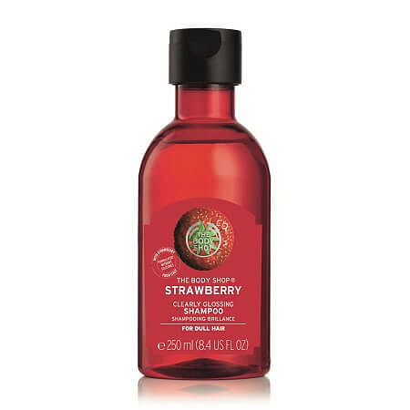 strawberry glossing shampoo