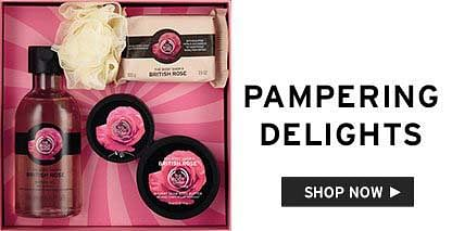 pampering delights