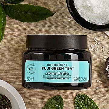 Fuji Green Tea Cleansing Hair Scrub