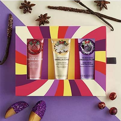 Body Shop Gifts Range