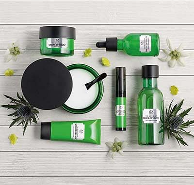 Th Body Shop Anti Ageing Product Range