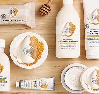 The Body Shop Body Moisturisers range
